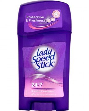 poza Deodorant solid Lady Speed Stick Breath of Freshness 45g