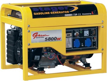 poza Generator open frame benzina Stager GG7500-3