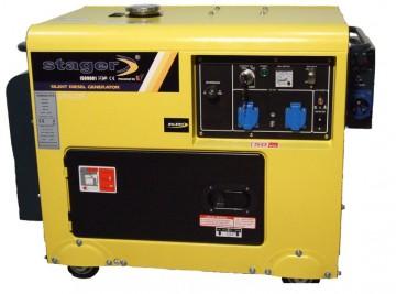 poza Generator cu automatizare Stager DG 5500S+ATS