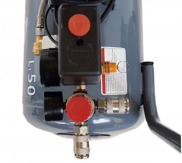 Compresor aer Stager HM0.75JW/50, 50L, 8bar, 165L/min, monofazat, angrenare directa, silentios