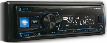 poza Radio CD Alpine UTE-80B Receiver USB AUX 4x50W Radio FM