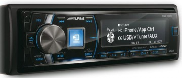 poza Radio CD Alpine CDE-175R Control iPod Conectare iPhone 4x50 W