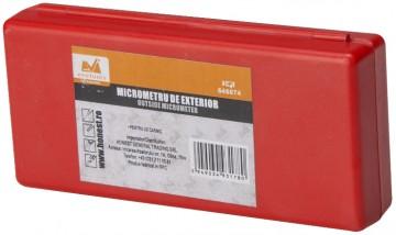 Micrometru de exterior 0-25mm, F=0.01mm