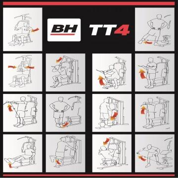 Aparat multifunctional BH FITNESS TT4