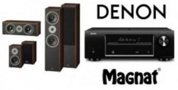 poza Sistem audio 50 Magnat Monitor Supreme 802+102+252 + Denon AVR-X1400