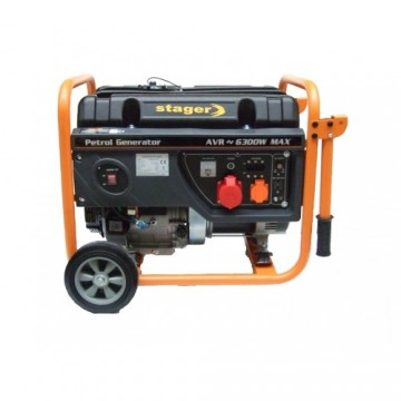 poza Generator open frame benzina Stager GG7300-3W