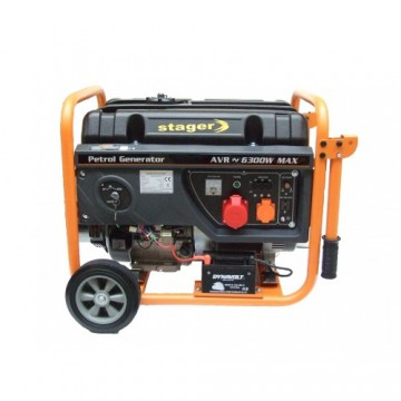 poza Generator open frame benzina Stager GG7300-3EW