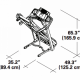 Banda de alergare SCHWINN 570T Gri, Greutate maxima suportata 136 Kg, Electrica, 26 de programe, Ventilator 3 viteze, Sistem de pliere SoftDrop™. Poza 7